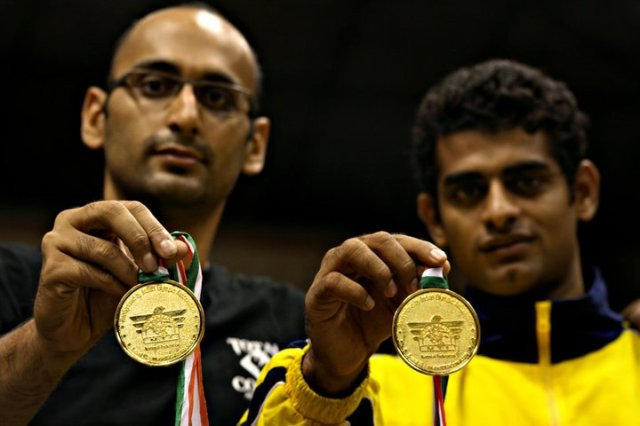 National Muay Thai Champions 2009 - Zaheerali Furniturewalla & Bala Shetty